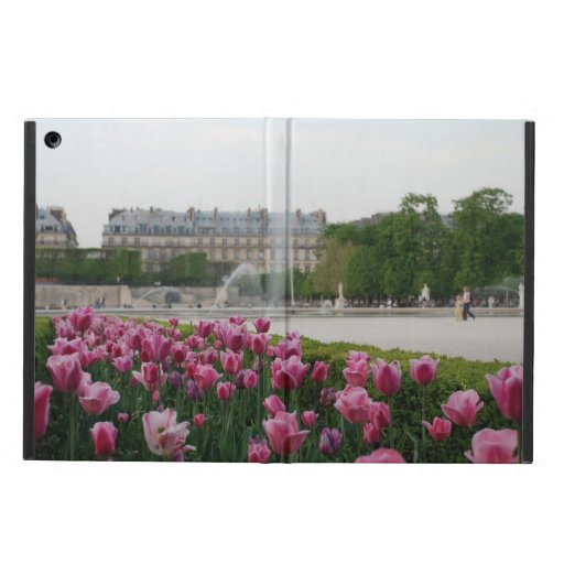 Tuileries Garden in bloom iPad Air Covers