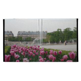 Tuileries Garden in bloom iPad Folio Cover