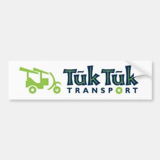 Tuk Tuk Transport Bumper Sticker
