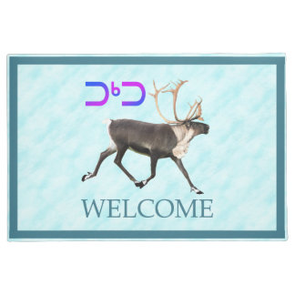 Tuktu - Caribou On Snow - Welcome Doormat