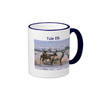 Tule Elk Ringer Coffee Mug
