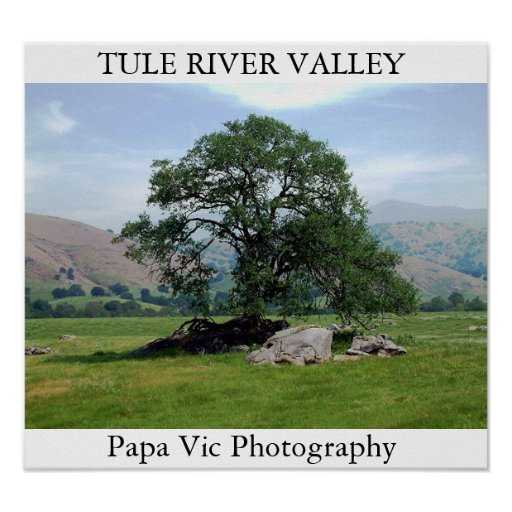 TULE RIVER VALLEY POSTER