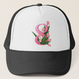 tulip 4 trucker hat
