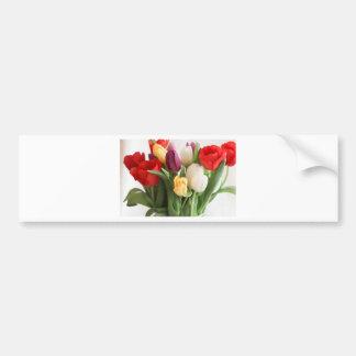 tulip bumper sticker