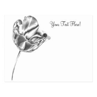 Tulip Chrome Postcard