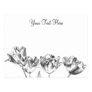 Tulip Chrome Postcard 2