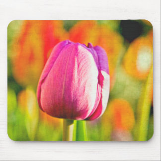 Tulip Collage Mousepads