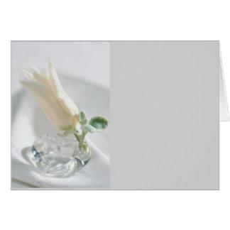 Tulip Crystal Greeting Card