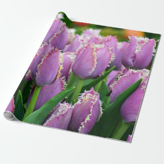 Tulip cummins wrapping paper