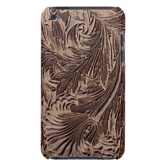 Tulip design printing block, 1875 (carved wood) barely there iPod case