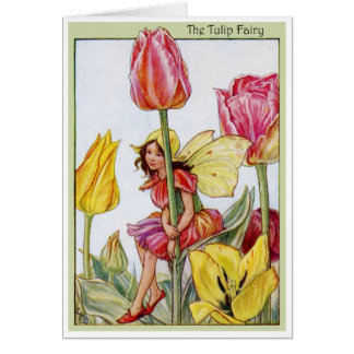 Tulip Fairy Card