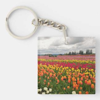 Tulip Farm Key Ring