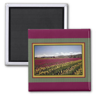 Tulip Field Magnet