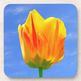 Tulip Flower Cork Coaster
