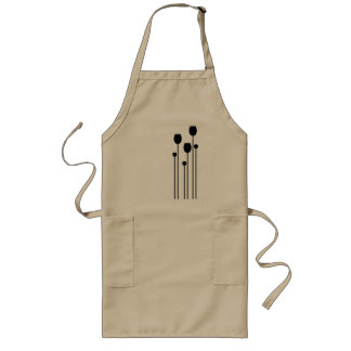 tulip, flower, floral, summer, summer sample, long apron