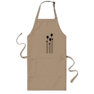 tulip, flower, floral, summer, summer sample, long apron