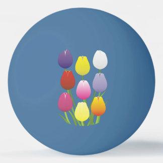 Tulip Flower Ping Pong Ball