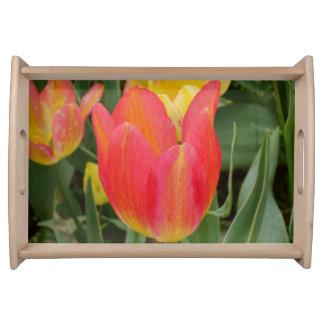 Tulip Flower Serving Tray