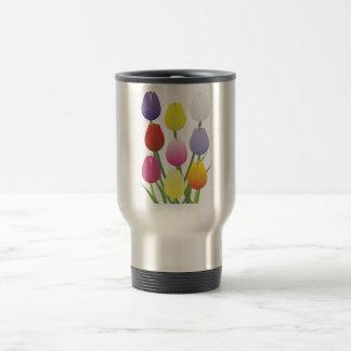 Tulip Flower Travel Mug