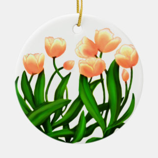Tulip Garden Flowers Ornament