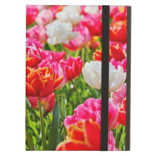 Tulip Garden iPad Folio Case