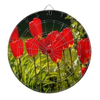 tulip impressions (square) dart boards
