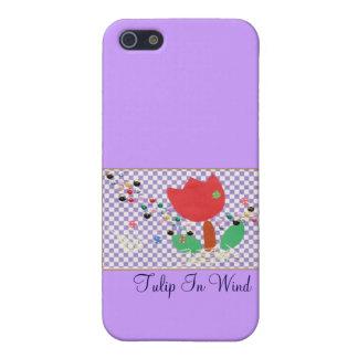 Tulip In Wind iPhone 5 Cases