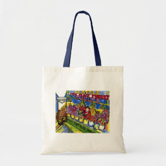 Tulip Lady Tote Bag