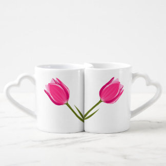 Tulip Love Coffee Mug Set