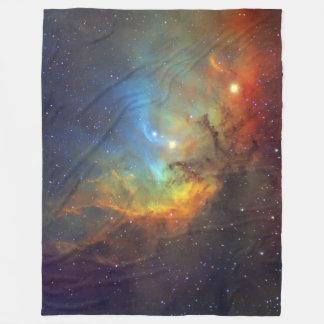 Tulip Nebula SH2-101 NASA Fleece Blanket