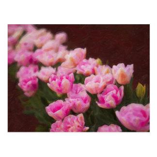 Tulip Painting Postcard