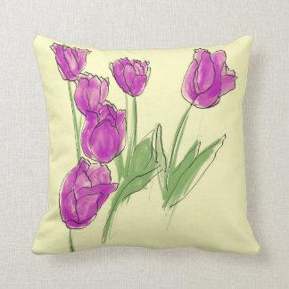 Tulip Patch Cushion