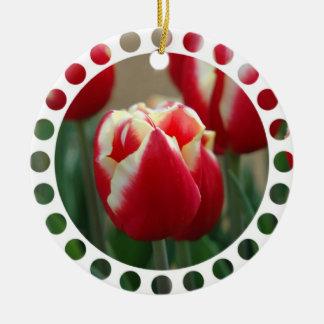 Tulip Photo Ornament
