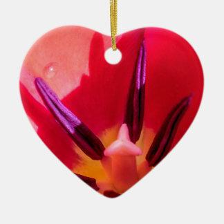 Tulip Porn Ceramic Ornament
