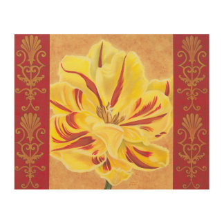 Tulip Power II Wood Wall Decor