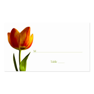 Tulip Special Occasion Place Card or Escort Card Pack Of Standard Business Cards