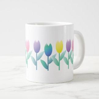 Tulip Spring Tulips New Home Jumbo Mug
