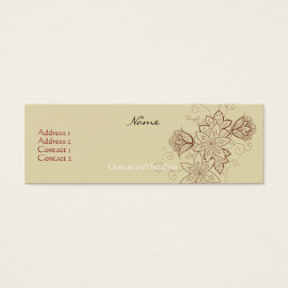 Tulip Tattoo Profile Cards (Sand)