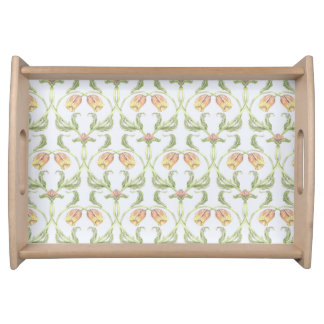 Tulip Trellis Serving Tray