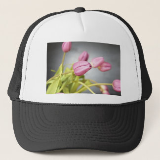 tulip trucker hat