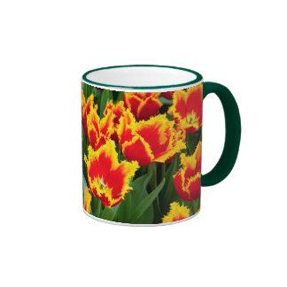 Tulipa Fabio, Keukenhof, Netherlands Ringer Mug