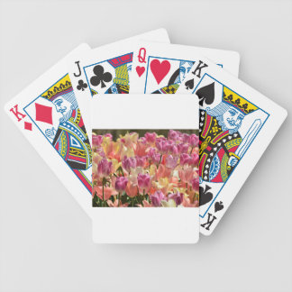 Tulips #2 bicycle playing cards