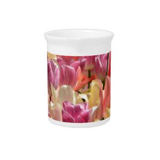 Tulips #2 pitcher