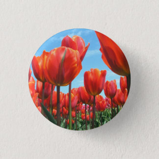 Tulips 3 Cm Round Badge