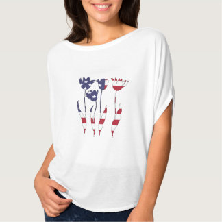 "Tulips ""American Flag"" T-Shirt"