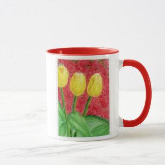 Tulips and Azaleas Mug