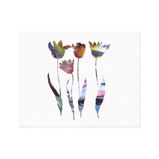 Tulips art canvas print