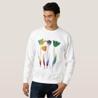 Tulips art sweatshirt