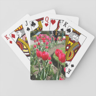 Tulips at Niagra Playing Cards
