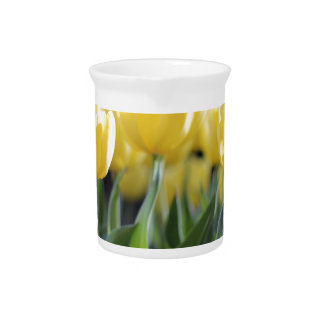 Tulips Beverage Pitchers